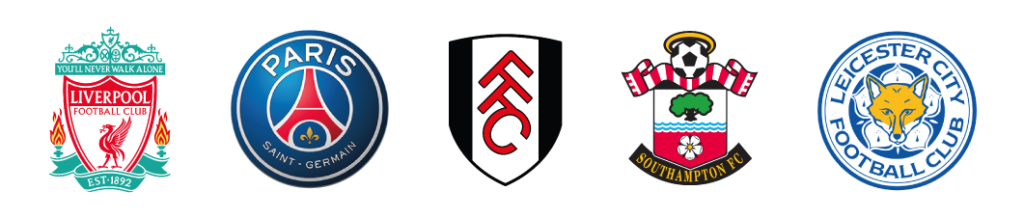 Liverpool F.C., Paris Saint-Germain F.C., Leicester City F.C., Southampton F.C. and Fulham F.C. train in Evian ICEF International Center of European Football - Boarding soccer academy in Europe